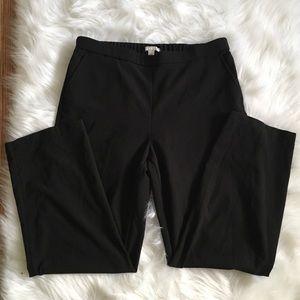 Dana Buchman Black Elastic Pants